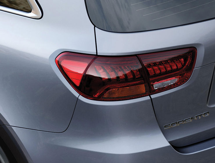 LED tail lamps and stop lamps